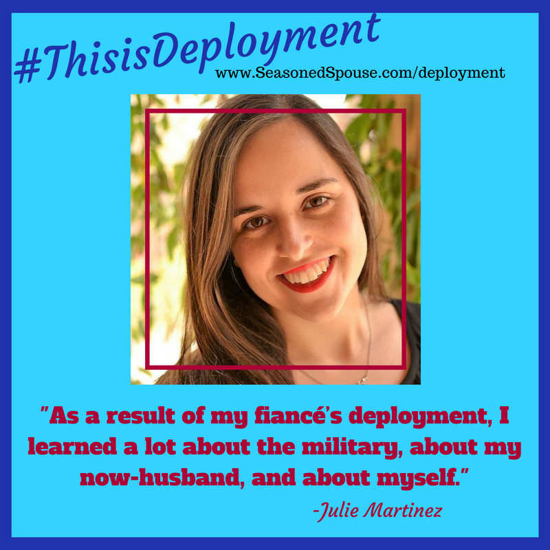 Military fiancees first deployment