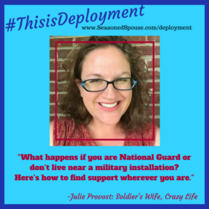 Find deployment resources off base