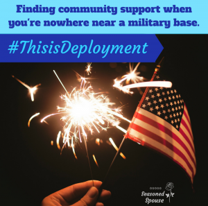 Find deployment support off base, wherever you are.