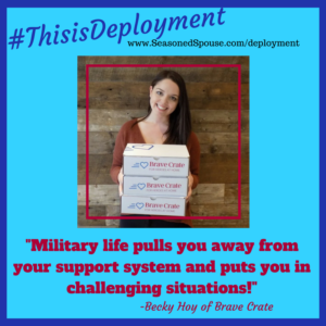 Military life will challenge you. #ThisisDeployment