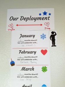 This customizable deployment countdown is perfect