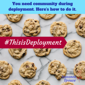 How to find community during deployment.