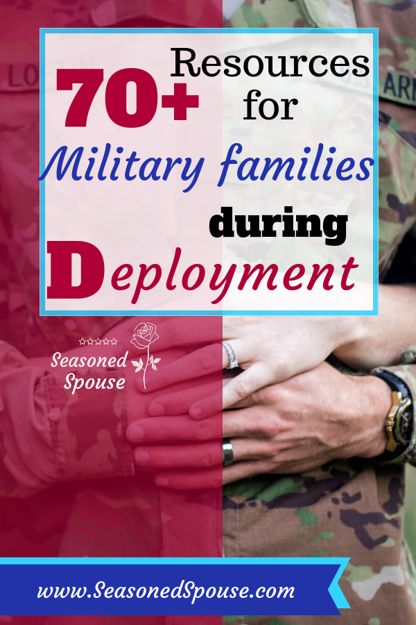 This giant list of deployment resources will get you through a military deployment!