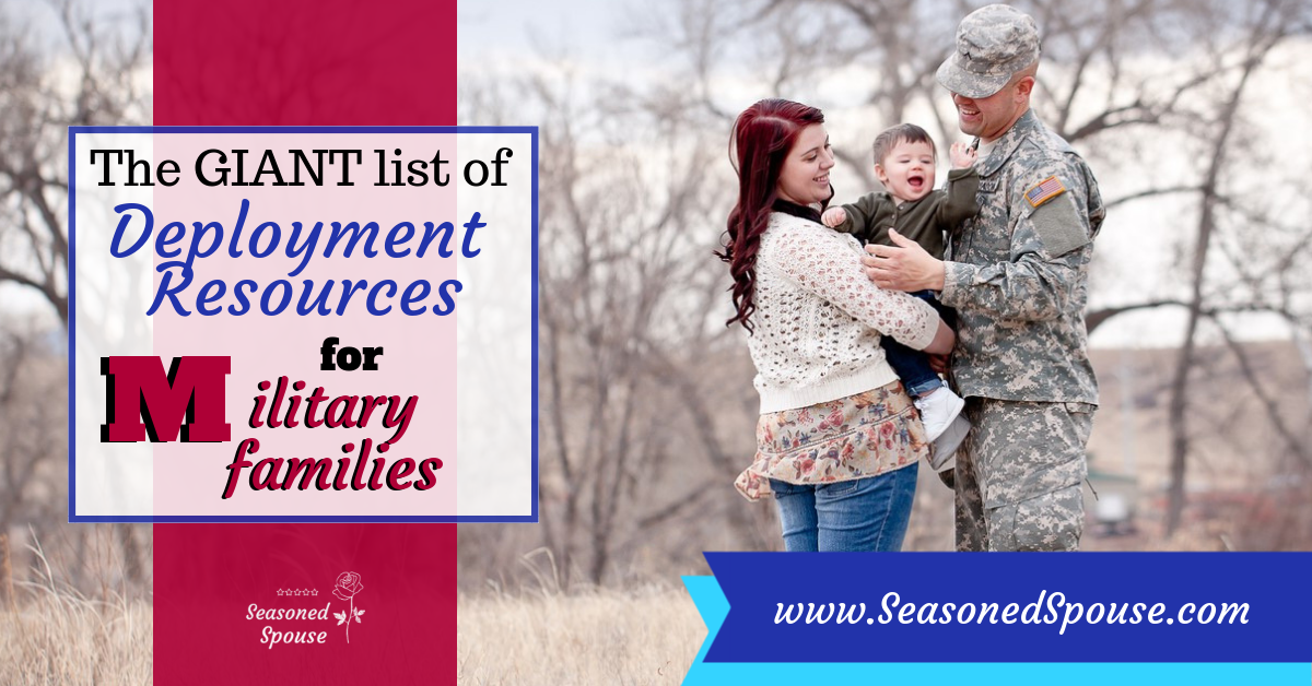 The Giant List of Deployment Resources for Military Families