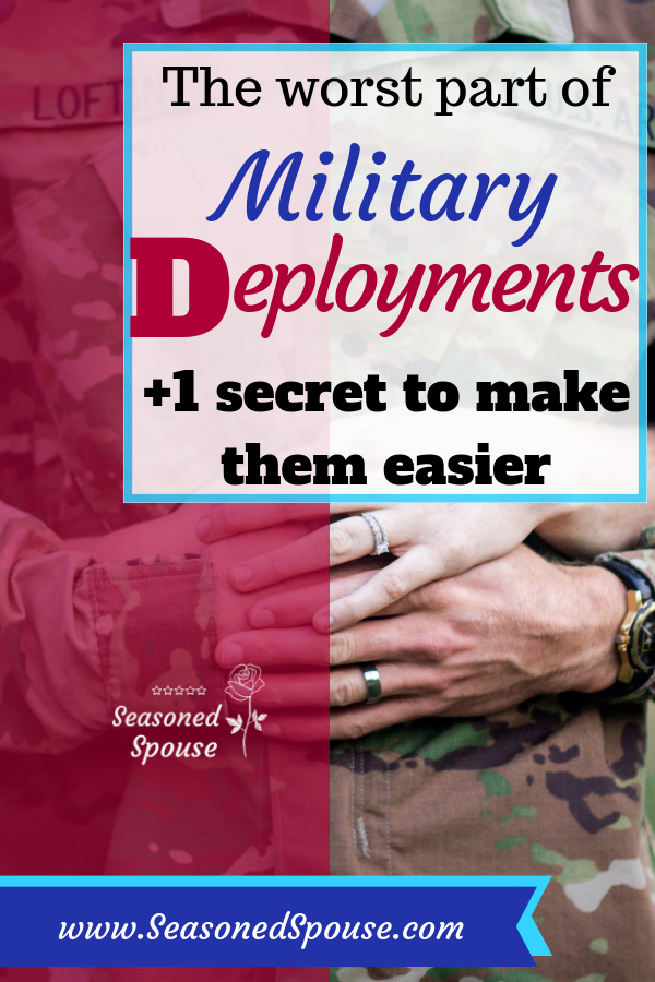 Here's the truth about the worst part of deployments, plus the strategy that makes them easier.