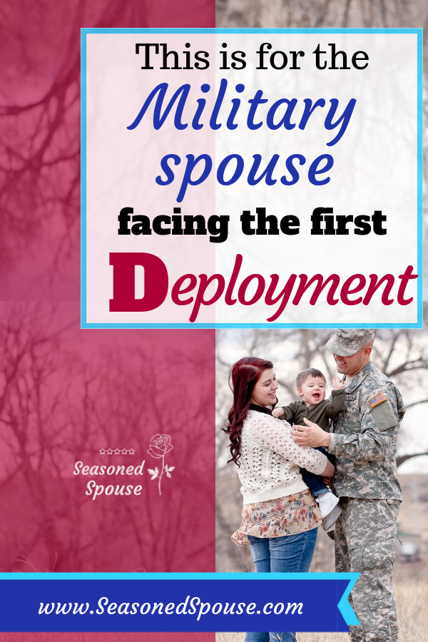 How to find your military spouse strength and heart when facing the first deployment