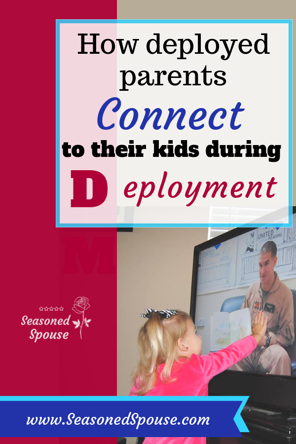 With United Through Reading, deployed parents remain connected to their kids during deployment.
