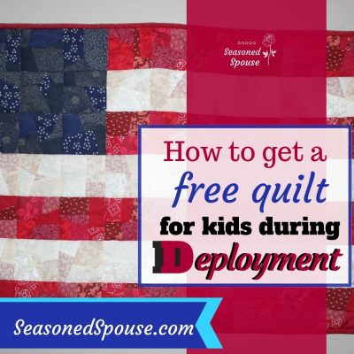Military kids can get a free Deployment Quilt