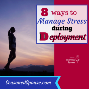 Here are easy ways for military spouses to manage deployment stress