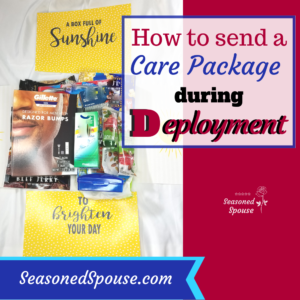 What to send in a deployment Care Package