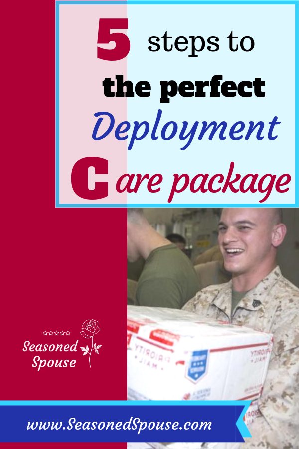 5 steps to the perfect Deployment Care Package