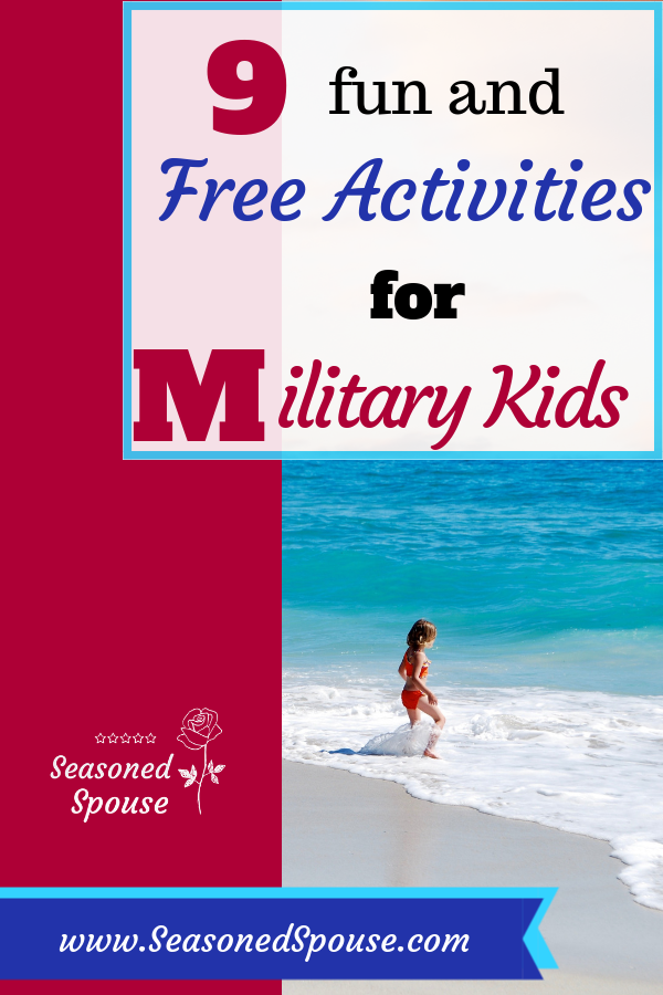 Free summer activities for military kids