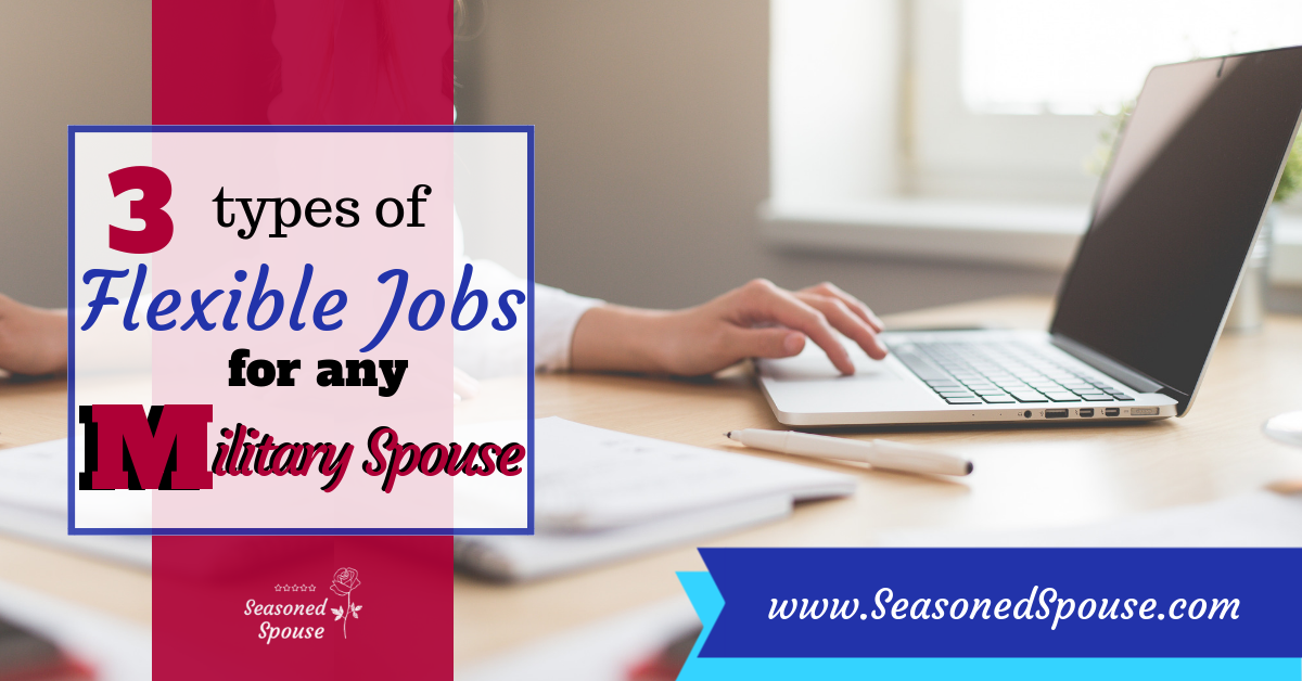3 Flexible Jobs for Military Spouses