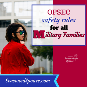 OPSEC rules for military families