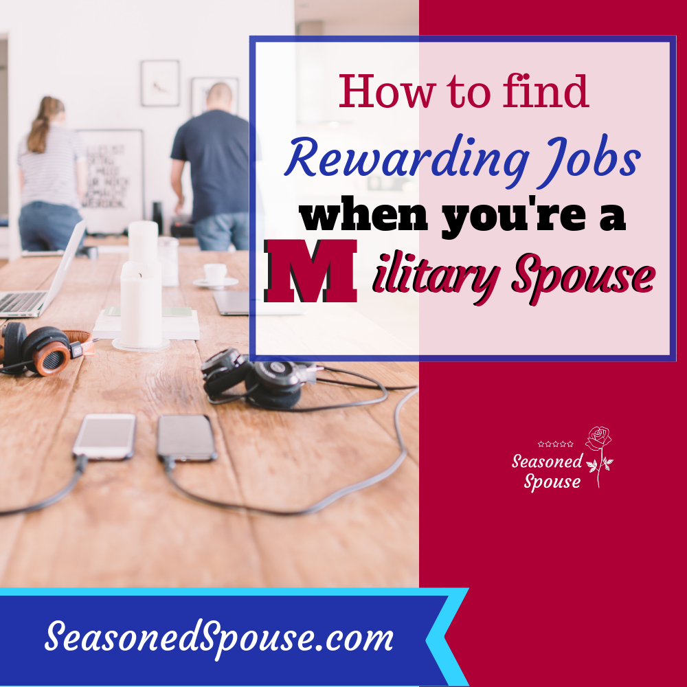 Every military spouse looking for rewarding work needs to bookmark this website