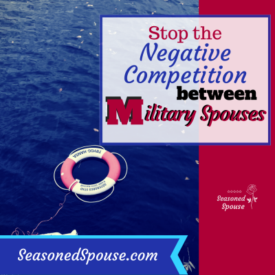 Stop the Competition Between Military Spouses