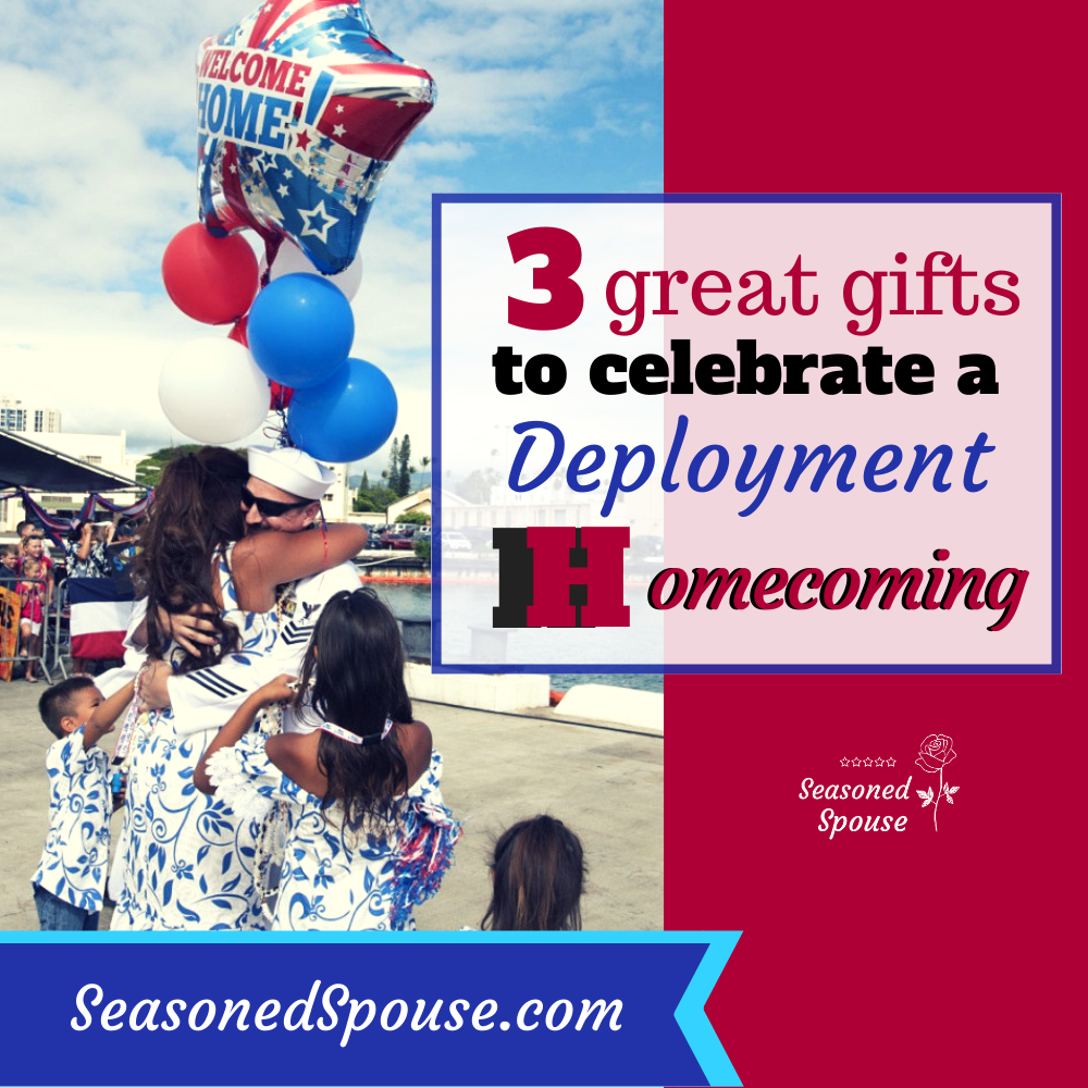 deployment Homecoming gift ideas