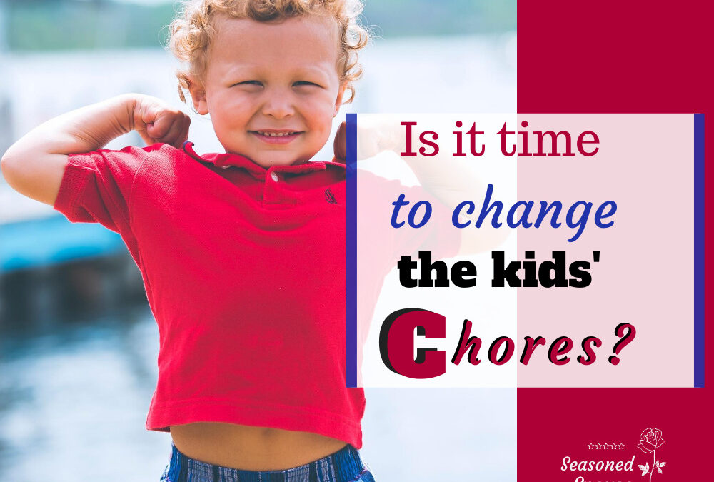 Is it time to change the chore chart?