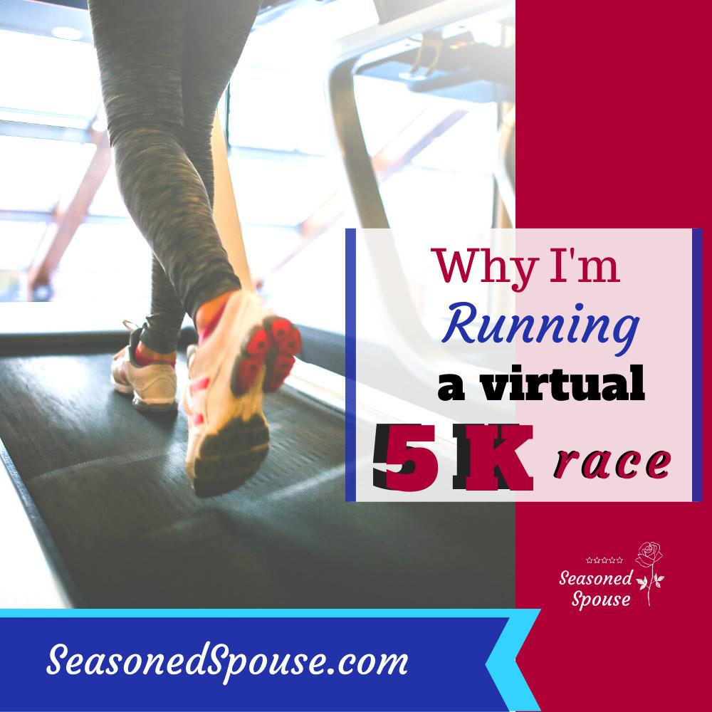 running a virtual 5K race