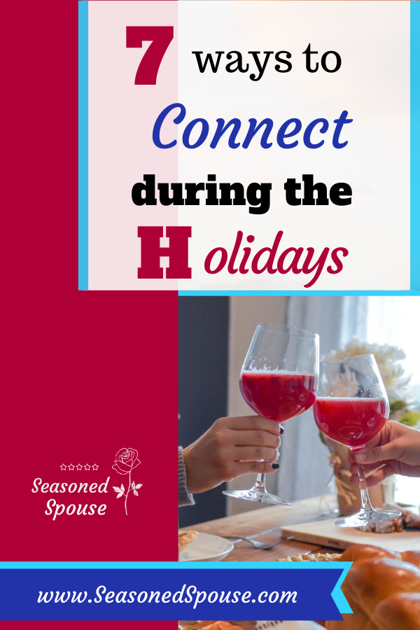 connect during the holidays